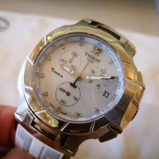 TISSOT T-RACE  Quartz Chronograph watch (100% NEW) 100% 全新瑞士製天梭 T-RACE 計時石英手錶