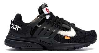 US 10 Nike Air Presto Off White Black