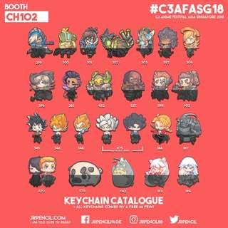 AFASG 2018   Keychain Catalogue 6/7   Booth CH102