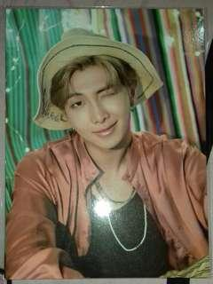[READY STOCK] BTS SUMMER PACKAGE 2018 IN SAIPAN RAP MONSTER MINI POSTER