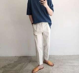 🚚 🇰🇷韓國帶回🇰🇷挺版卡其工作褲