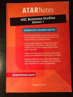 ATAR NOTES Business Studies Textbook