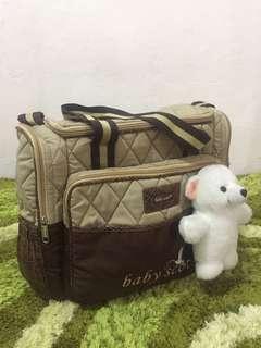 Baby Scots Diaper Bag