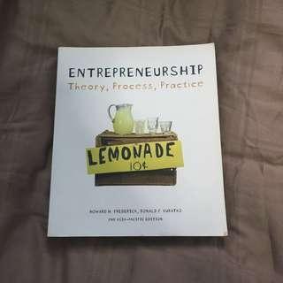 Entrepreneurship : Theory , Process , Practice