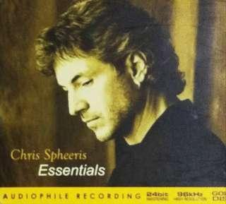 arthcd CHRIS SPHEERIS Essentials GOLD Disc CD (Audiophile Recording)