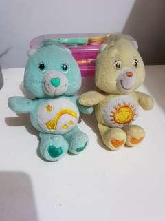 Care bears keychain stuffed toy