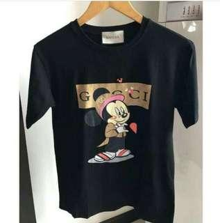 Gucci Ins Black/Gold Mickey Shirt