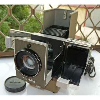 Minolta mini 35 II 古董迷你幻燈機、135正片投影機,原廠全套盒裝
