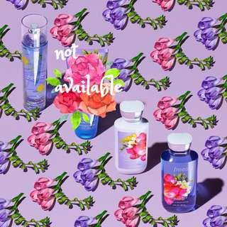 Freesia Shower Gel, Lotion & Perfume Set