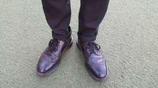 Dr.Martens 馬汀雕花鞋uk8 us9