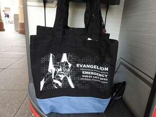 代購  新世紀福音戰士 EVA 初號機 手袋  日本環球影城 USJ 特別版!
