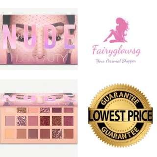🚚 🌾Instock🌾Authentic Huda Beauty Nude Palette