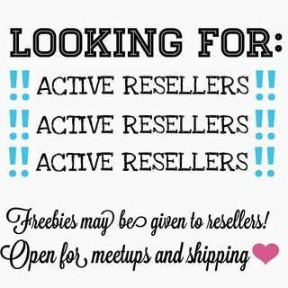 LOOKING FOR ACTIVE RESELLERS‼️