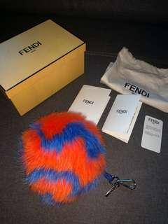 Fendi fur bag charm ($900)