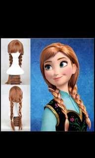 [Cosplay服]Anna 公主 包服、斗篷、wig