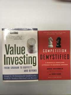 Value investing and competition demystified