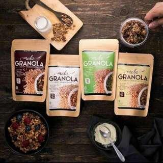 Mola Granola Healty Snack Food ASI Booster