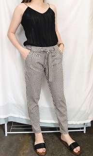 Checkered Trouser