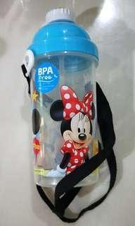 🚚 350ml BPA free straw water bottle