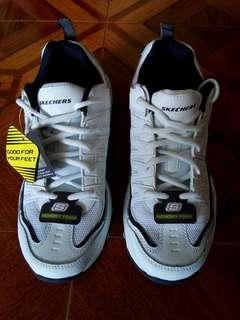 Skechers White Rubber Shoes