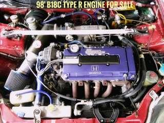 1998 DC2 Type R engine