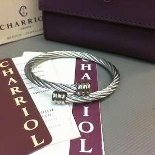 🚚 CHARRIOL 夏利豪經典鋼索手環