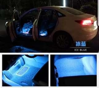 🚚 12V Car LED Strip Light LED Car Decorative Atmosphere Light Automobile Interior Foot Lamp Car Styling