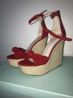 Kookai Bianca wedges brand new size 37