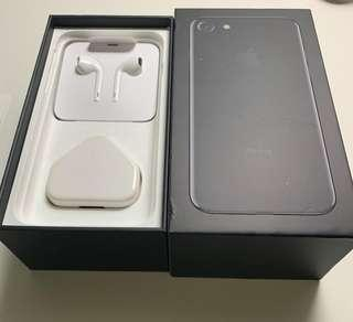 USED iphone 7 128gb Jet Black