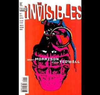 THE INVISIBLES #1s (1990) First issues Vol. 1, Vol. 2 & Vol. 3