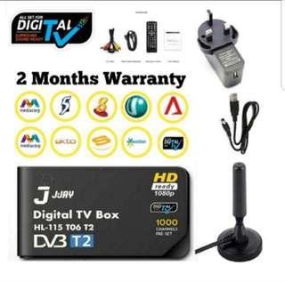 🚚 DVB-T2 Digital TV Set Up Box Singapore/ Digital Antenna