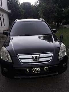 Honda crv 2.4cc matic tahun 2005