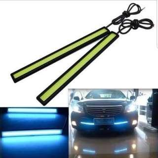 🚚 Ultra Bright LED Daytime Running Lighy DC 12V 17CM Waterproof Auto Car DRL COB Driving Fog Lamp