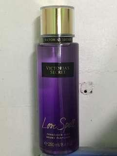 Original Victoria's secret love spell perfume body spray imported
