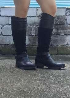 Original Aldo boots black boots knee high boots imported