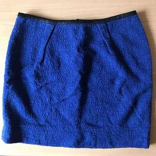 Cobalt Blue Skirt Size XS