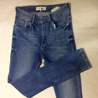High Waisted Jeans from Mango