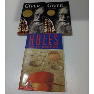 The Giver / Holes