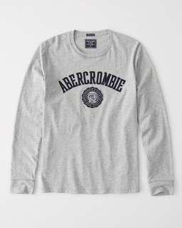 [INSTOCK] Abercrombie & Fitch Long Sleeve Graphic Tee (S)