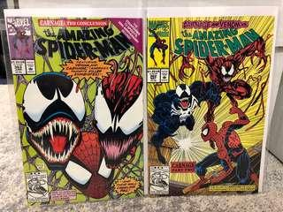 Amazing Spiderman #362-363