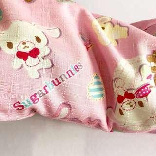 🌈 Bean Sprout Husk Pillow / Beanie Pillow , Fabric from Japan ( 100% Handmade 100% Cotton , Premium Quality!) size 15 x 40cm SugarBunnies, Sanrio