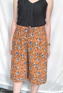 Floral short Square Pants