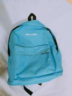 I AM A GIRL backpack