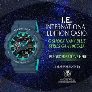 CASIO INTERNATIONAL EDITION G SHOCK BIG CASE ANALOG DIGITAL GA-110CC-2A