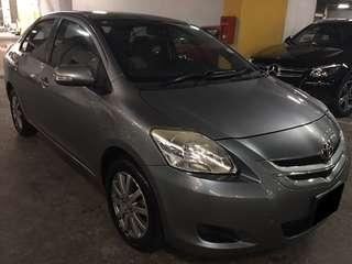 16/11-19/11 FRI-MON TOYOTA VIOS 2ND GENERATION $195 (P PLATE WELCOME)