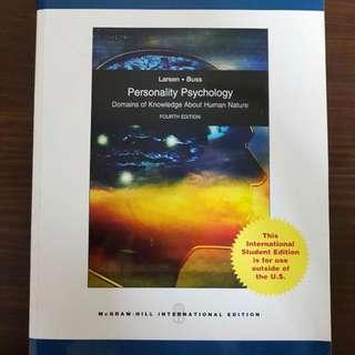 Personality Psychology Domains of Knowledge About Human Nature, 4th Edition by Larsen & Buss