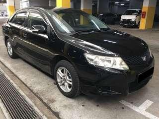 16/11-19/11 TOYOTA ALLION $195 (P PLATE WELCOME)
