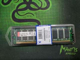 🚚 送咖啡 DDR400 1G 桌上型電腦記憶體 終身保固 創見