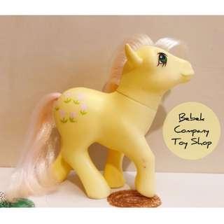 鬱金香 1984年 Hasbro My Little Pony MLP G1 古董玩具 我的彩虹小馬 第一代 彩虹小馬