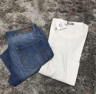 Take both!!! Uniqlo Top and Bench Pants